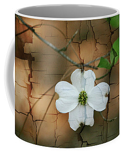 Dogwood Bloom Coffee Mug by Cathy Harper