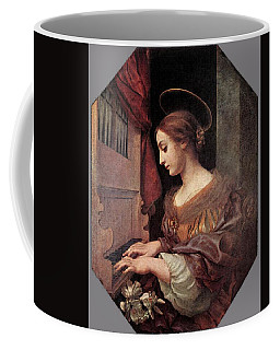 Dolci Carlo St Cecilia At The Organ Coffee Mug