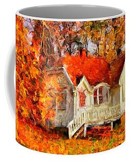 Doll House And Foliage Coffee Mug
