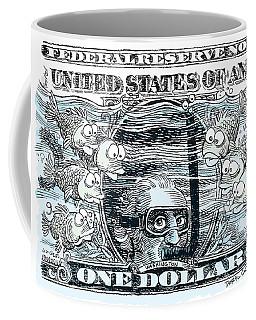 Dollar Submerged Coffee Mug