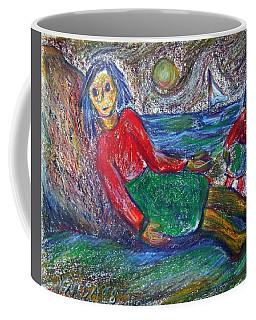 Dolls On The Beach Coffee Mug