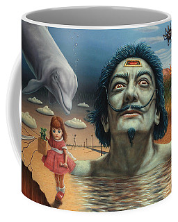 Dolly In Dali-land Coffee Mug by James W Johnson