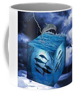 Dolphin Art Coffee Mug