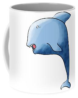 Dolphin Blue Coffee Mug
