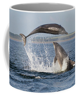 Dolphins Having Fun Coffee Mug