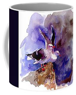 Dolphin Gulls Coffee Mug