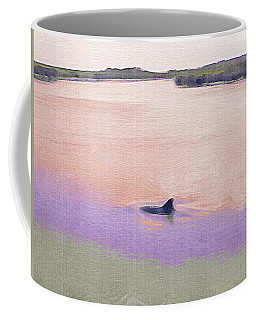 Dolphins In The River Coffee Mug