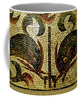 Dolphins Of Pompeii Coffee Mug