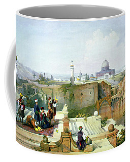 Dome Of The Rock In The Background Coffee Mug