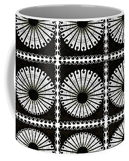 Coffee Mug featuring the digital art Domed Kaleidescope by Ellen Barron O'Reilly