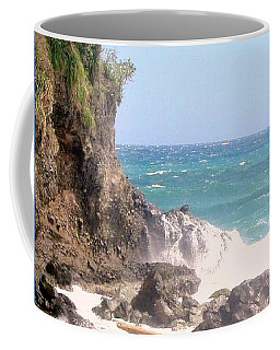 Coffee Mug featuring the photograph Dominica North Atlantic Coast by Ian  MacDonald