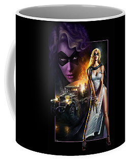 Domino Lady Coffee Mug
