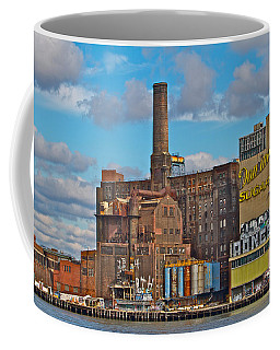 Domino Sugar Water View Coffee Mug by Alice Gipson