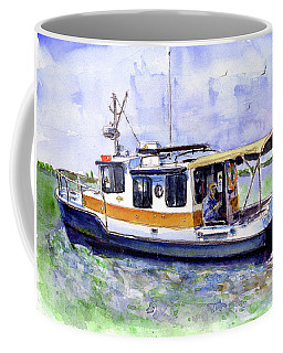 Don And Kathys Boat Coffee Mug