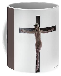 Donna Nuda Sulla Croce I Coffee Mug
