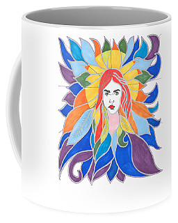 Donna Soul Portrait Coffee Mug