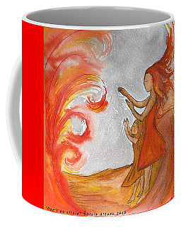 Don't Be Afraid Coffee Mug by Gioia Albano