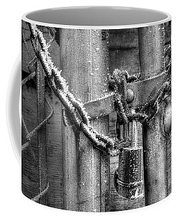 Don't Fence Me Out Coffee Mug by Mike Eingle