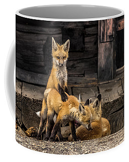 Don't Leave Me Coffee Mug by Yeates Photography