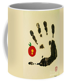 Don't Touch Me Coffee Mug by Roberto Prusso