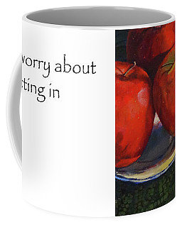 Don't Worry About Fitting In Title On Side Coffee Mug