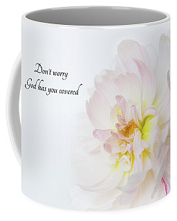 Coffee Mug featuring the photograph Don't Worry by Mary Jo Allen