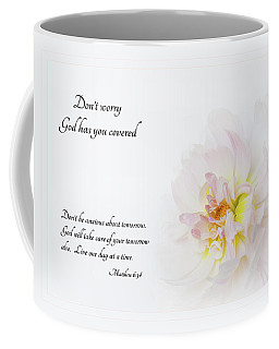 Don't Worry With Verse Coffee Mug