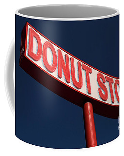 Donut Stop Coffee Mug by Bob Pardue