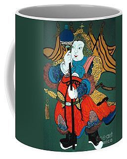 Coffee Mug featuring the painting Door Guard No.2 by Fei A