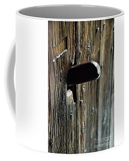 Door Handle Coffee Mug
