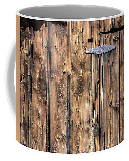 Door Hinge Coffee Mug