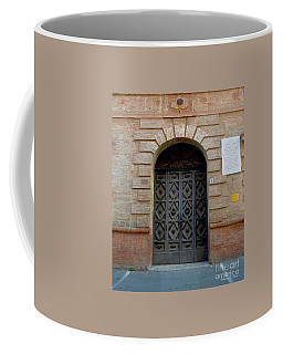 Door In Ferrara, Italy Coffee Mug