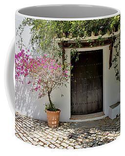 Door In Shade Coffee Mug