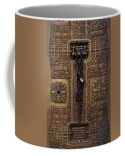 Door Into Pacific Coast Stock Exchange Coffee Mug