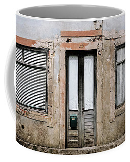 Coffee Mug featuring the photograph Door No 128 by Marco Oliveira