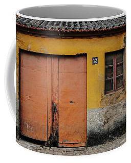 Coffee Mug featuring the photograph Door No 162 by Marco Oliveira