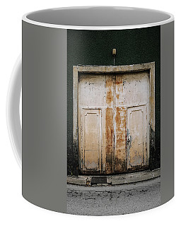 Coffee Mug featuring the photograph Door No 163 by Marco Oliveira