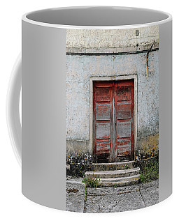 Coffee Mug featuring the photograph Door No 175 by Marco Oliveira