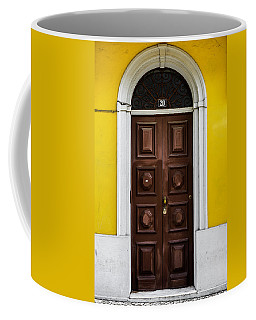 Door No 20 Coffee Mug by Marco Oliveira