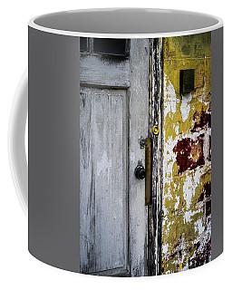 Coffee Mug featuring the photograph Door by Samuel M Purvis III