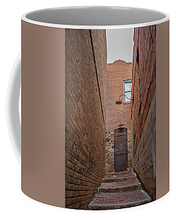 Coffee Mug featuring the photograph Door To 9a by Dan McManus