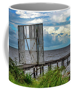 Door To Dock Coffee Mug
