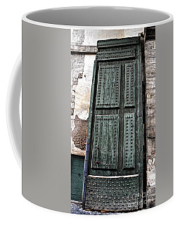 Door To The Roman Gateway Coffee Mug