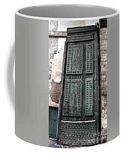 Door To The Roman Gateway Coffee Mug