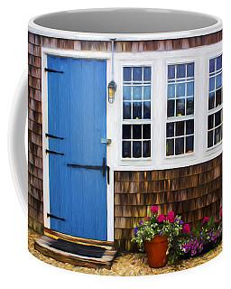 Blue Door - Doors And Windows Series 01 Coffee Mug
