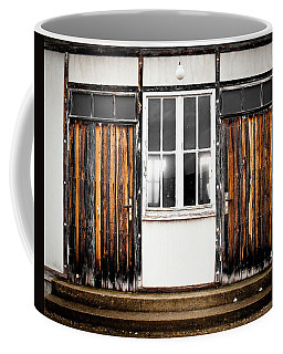 Doors Of Dachau Coffee Mug