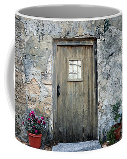 Doors Of St. Augustine Coffee Mug by Marcia Lee Jones