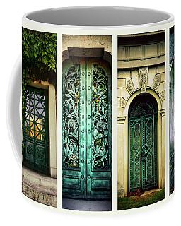 Doors Of Woodlawn Coffee Mug