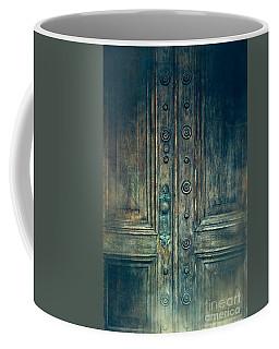 Doors Old Beautiful Vintage Coffee Mug by Ella Kaye Dickey