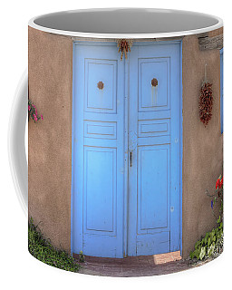 Doors, Peppers And Flowers. Coffee Mug